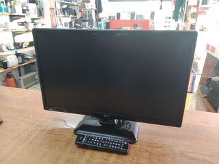 """TV LG 22"""" LED CON MANDO TDT HDMI USB"""