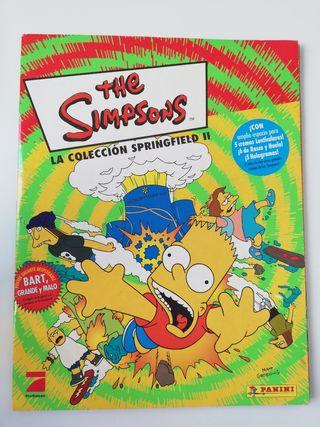 Álbum cromos The Simpsons 2
