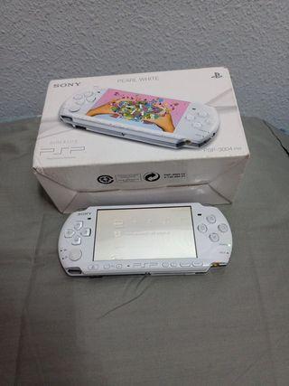 PSP 3000 Pearl White