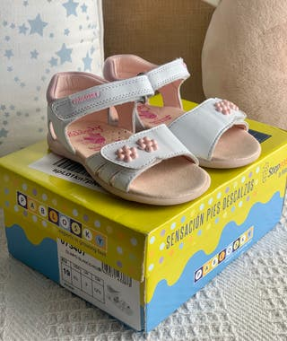 Sandalia piel bebé niña pablosky t.19