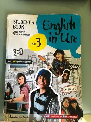 Libro inglés 3 ESO