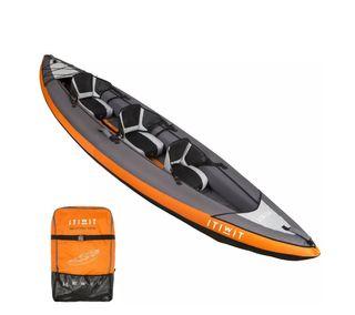 Kayak hinchable 2/3 plazas y 2 palas desmontables