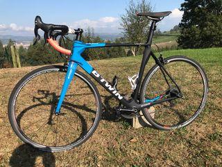 Bicicleta de carretera btwin match 740cf