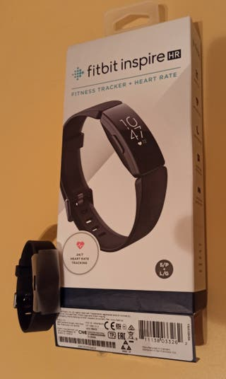 Smartwatch Fitbit Inspire HR negro