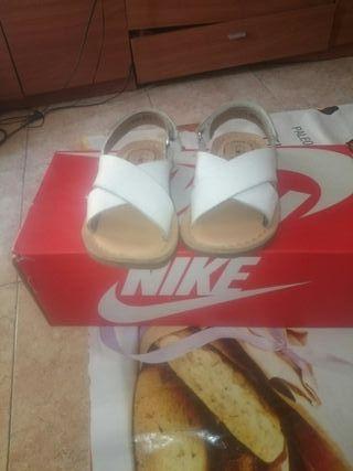 sandalias de niñas número 21