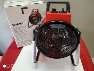 Calefactor, ventilador industrial con 2 potencias