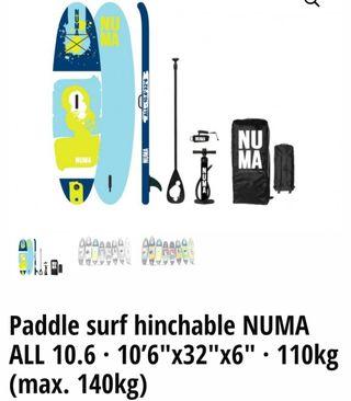Numa paddle surf