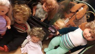 Muñecas vintage de todo tipo