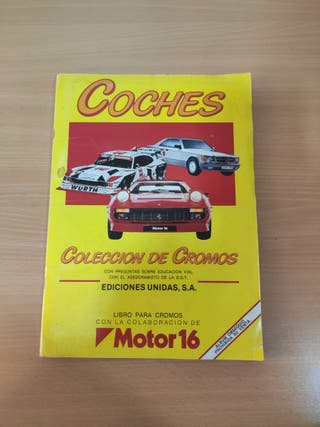 ALBUM COCHES MOTOR 16