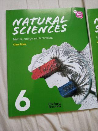 libros de naturales sciences de sexto de primaria