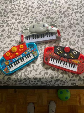 Se venden pianos niños