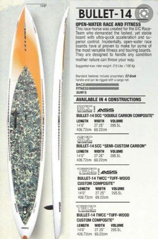 Tabla paddle surf Sic Maui Bullet 14