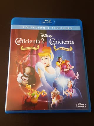 CENICIENTA + CENICIENTA 2. Bluray Disc.