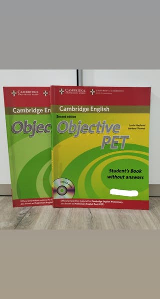 libros objective PET