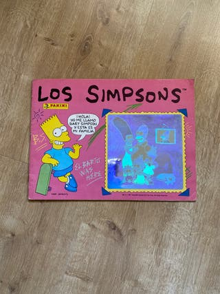 Album de cromos de Los Simpsons