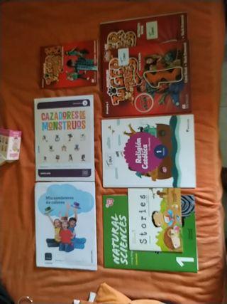 libros de texto 1 de primaria