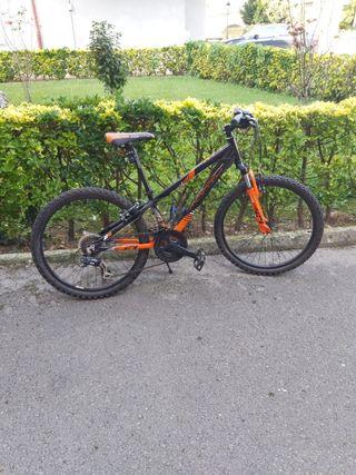 bicicleta niño tamaño medio