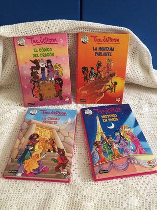Lote 4 Libros Tea Stilton