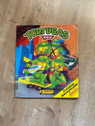 Album de cromos de Las tortugas ninja