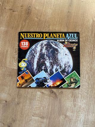 Album de cromos Nuestro planeta azul
