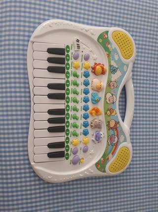 piano canciones animales