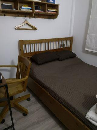 Muebles dormitorio completo 150