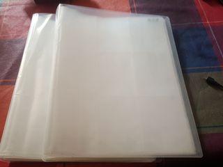 Álbum archivador de cartas o cromos