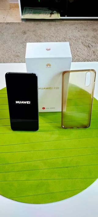 Huawei P20 Azul mystic impecable.