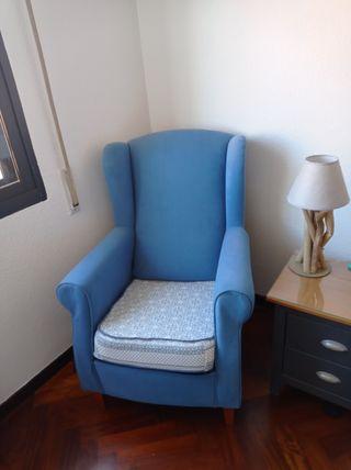 Butaca, sillón orejero
