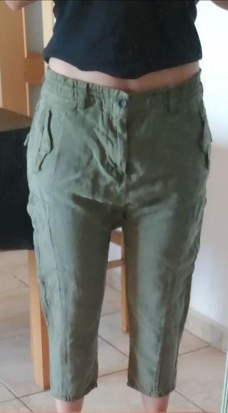 Pantalon oversize Pull&Bear talla M