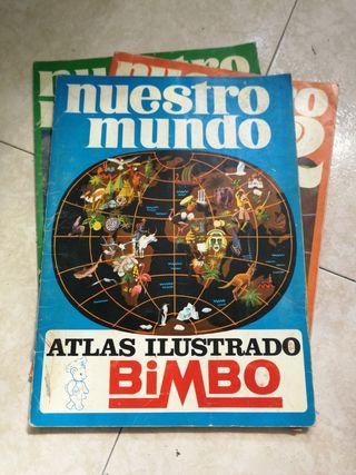 ALBUM BIMBO NUESTRO MUNDO 1, 2 Y 3