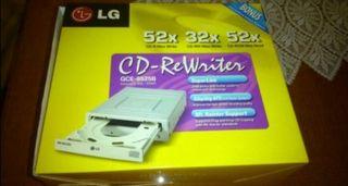 LG CD-ReWriter a estrenar