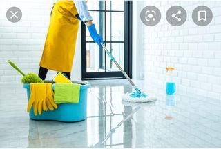 Busco trabajo de limpieza por 10 € la hora