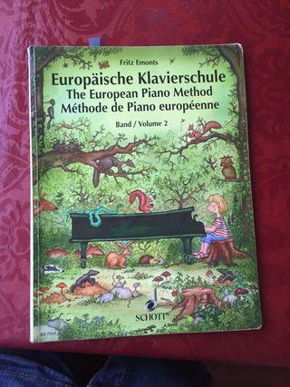 Libro piano Fritz Emonts vol. 2