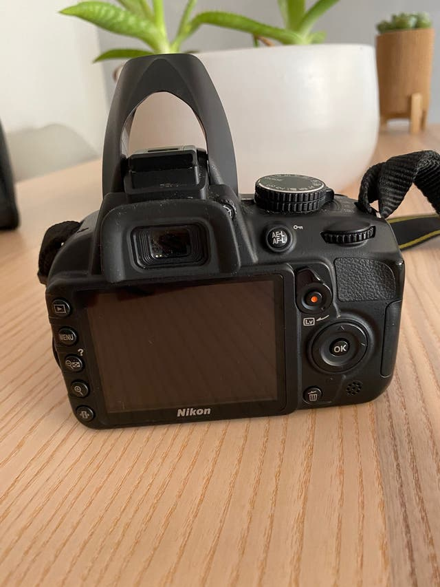 Cámara Nikon reflex