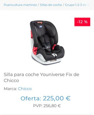 Silla coche 1-2-3 Chicco