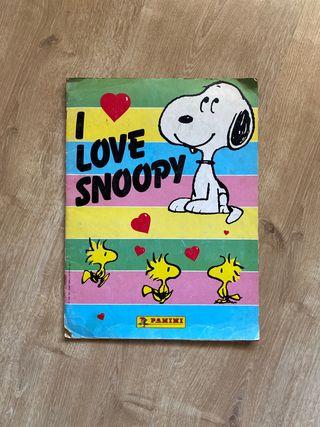 Album de cromos I love Snoopy