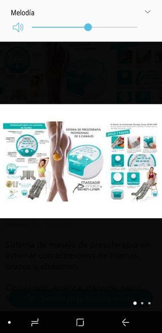 Presoterapia Energy Seven-Liner