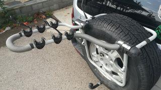 Porta bicis rueda 4x4