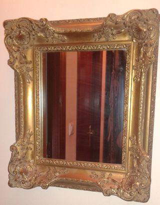 espejo barroco antiguo