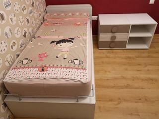 Cuna habitación infantil convertible Ros