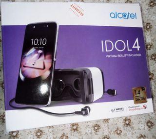 Alcatel idol 4 con gafas de realidad virtual