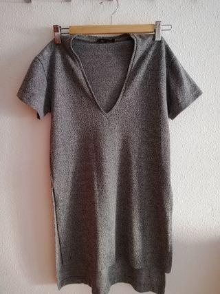 Camiseta/vestido gris