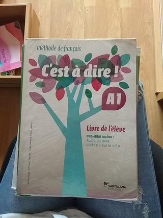 Libro Francés Bachillerato