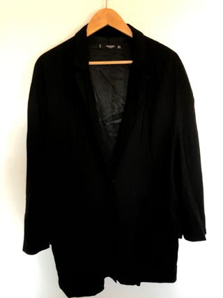 Americana blazer oversized negra