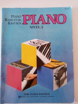 Piano básico de bastian nivel 2