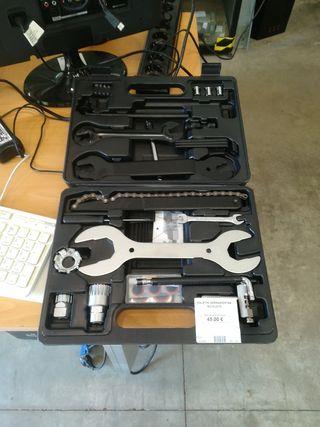 Maletin herramientas para bicicleta