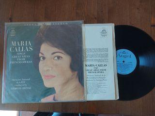 Vinilo Maria Callas