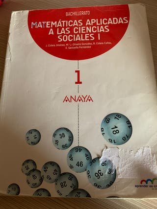 Matemáticas ciencias sociales 1 bachillerato