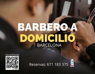 Barbero a Domicilio en Barcelona